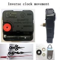Quartz Clock Movement Kit Spindle Mechanism Shaft 12mm Counterclockwise Movement DIY Clock Parts Accessories Free