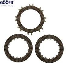 GOOFIT Single-automatic Clutch Plate for 50cc 70 Cc 90cc 110 125cc Atvs Dirt Bikes Go Karts Quad 4 Wheeler Pit Bike K072-018