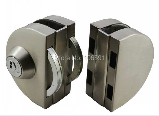 No drilling glass door double door glass anti-theft locks anti-  sc 1 st  AliExpress.com : door rammer - pezcame.com