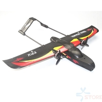 SKY HAWK V2 940mm Wingspan EPP Double Motor Device FPV RC Airplane Kit PNP Black Electric