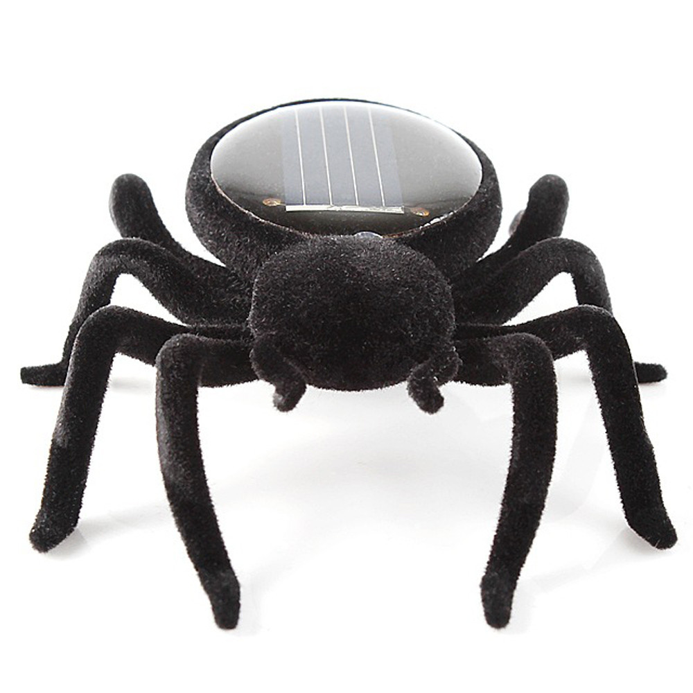 Educational Robot Scary Insect Gadget Trick Toy Solar Spider Tarantula Solar Toy Juegos Solares Kids Toy Robot Toy 5.14
