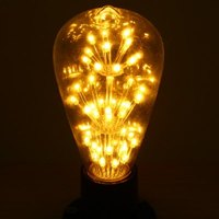 E27 3W Vintage Design Beautiful Romantic LED Holiday Party Light Bulb Free Shipping