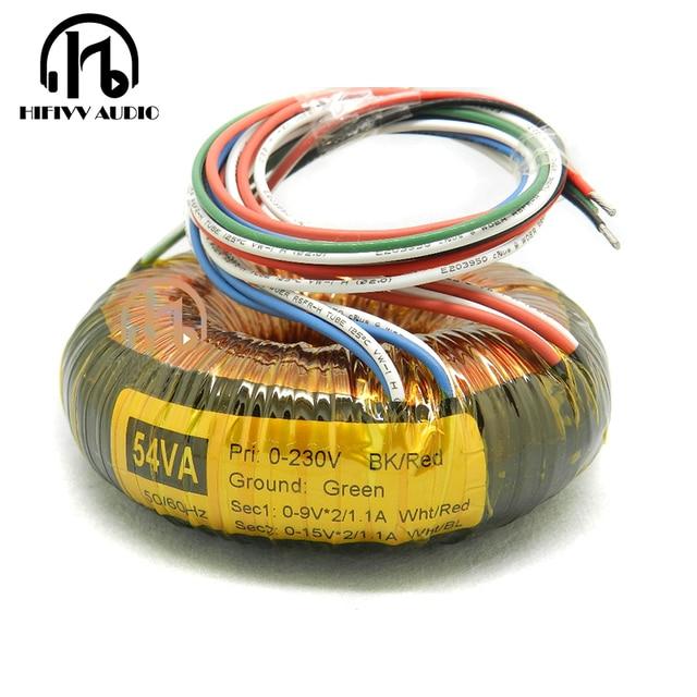 hifivv audio 54w simon tuned o transformer copper enamel wire toroidal  transformer (ring transformer) power amplifier