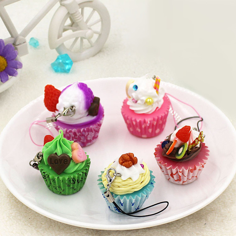 Us 2196 5pcs Artificial Cupcakekitchen Cake Food Pendantchristmas Birthday Party Decorations Wedding Gift Early Education For Children In Kitchen