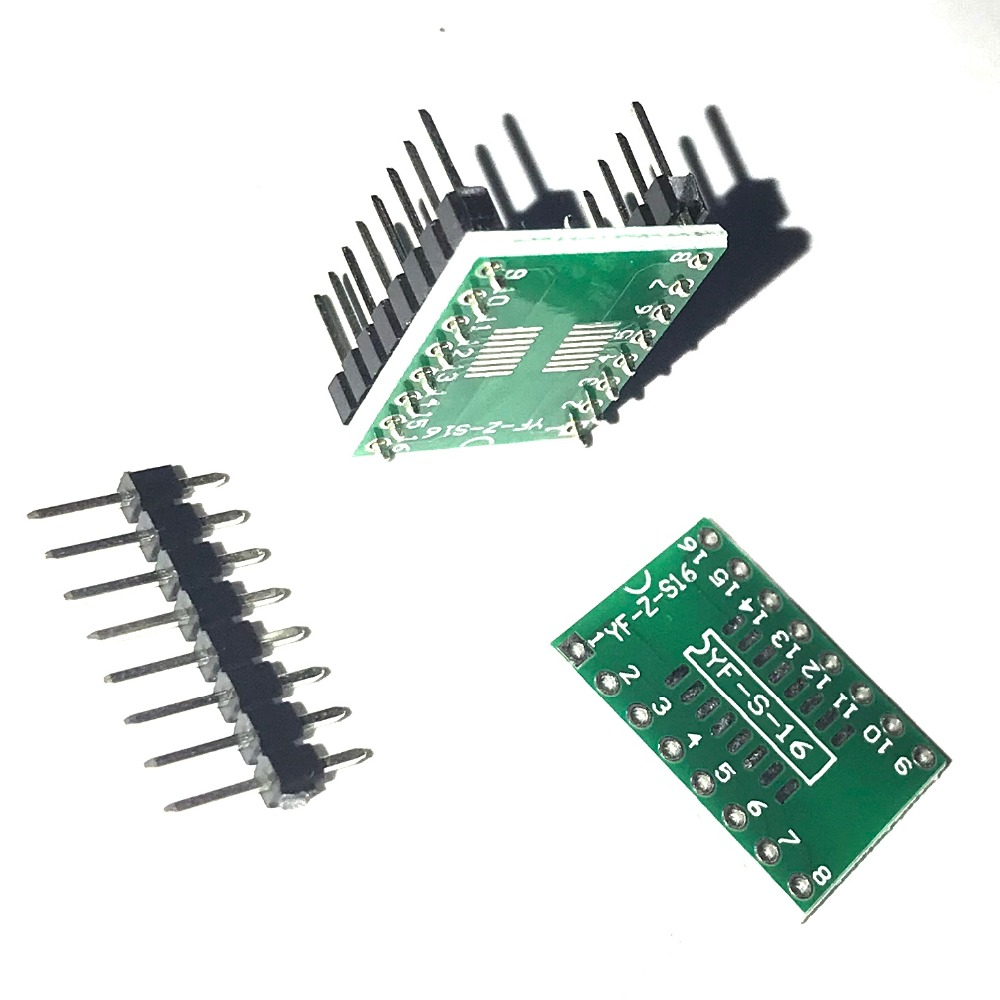 Ssop16 Tssop16 Sop16 To Dip16 Patch Line Pcb Adapter Boards With Smt Dip Pcba Suitable For Camera Circuit Board And Electronic Pin C013 In Integrated Circuits From Components Supplies On