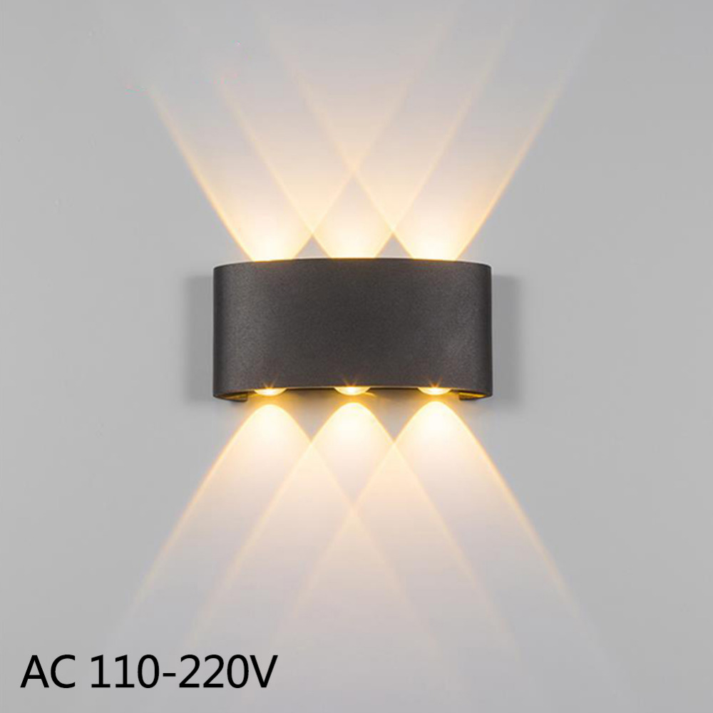 Hot Sale Wall Sconce Lamp 2w 4w 6w Led Outdoor Wall Lamp Ip65