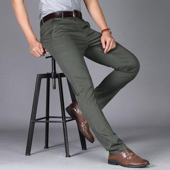 Suit Pants men casual office high quality trousers formal pants for men wedding party dress social trousers pantalones hombre 1