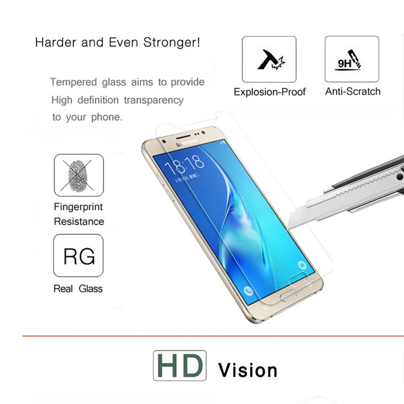 9H Tempered Glass For Samsung Galaxy A3 A5 A7 2017 Screen Protector For Samsung A5 A3 A7 2016 note3 note4 note5 Protective film