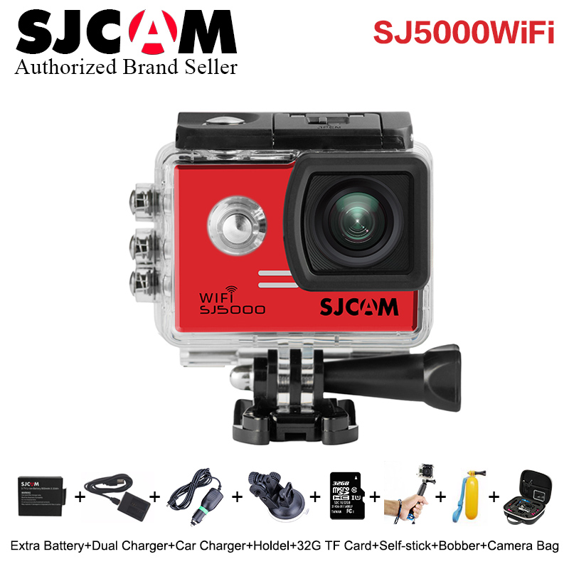 SJCAM SJ5000 WiFi Action Camera 1080P Full HD Sports DV 2.0 inch Diving 30M Waterproof mini Camcorder Original SJ 5000 Sport Cam other sjcam wifi sj4000 wifi 1080p hd gopro dv 30 original sjcam wifi version sj4000 wifi 1080p full hd gopro camera