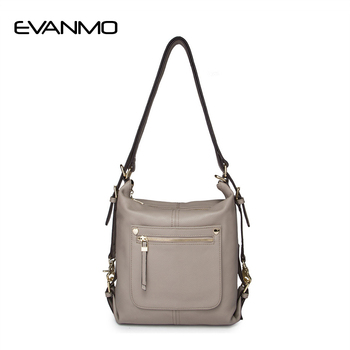 New Arrival Multi Function Handbags Fashion Ladies Genuine Leather Bags Luxury Shoulder Bags Hobos Designer Vintage for Women