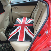 UK British Flag Printed Car Seat Back Cushion Dustproof Protectors
