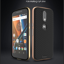 ipaky brand New Hybrid case For moto g4 hard PC frame+Silicon Protector back cover for moto g4 plus