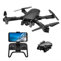 R8 Foldable RC Quadcopter 4k selfie Drone HD dual Camera FPV ladybird altitude hold optical flow Camera drone helicopter