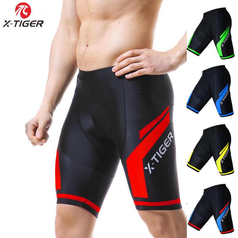 X-TIGER 8 Renk Coolmax 5D JEL Yastıklı Bisiklet Şort Darbeye Dayanıklı MTB Bisiklet Şort Yol bisiklet şortları Bisiklet Tayt