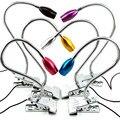 Modernas Lâmpadas de Mesa Proteção para Os Olhos LED Lâmpada de Leitura Com Clipe Tubo flexível Candeeiros De Mesa USB Livro Luzes 1 W de Alta Potência Colorfull
