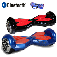 Iscooter hoverboard bluetooth 6.5インチスクーターセルフバランス電動スクーター二輪ホバーボードでUL2722いいえ