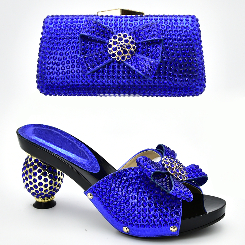 Italian Shoe and Bag Set for Party
