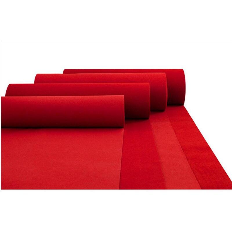 Personnalisé 2mm épaisseur rouge tapis extérieur mariage Banquet célébration Film Festival événement récompense décoration tapis Photo stand base