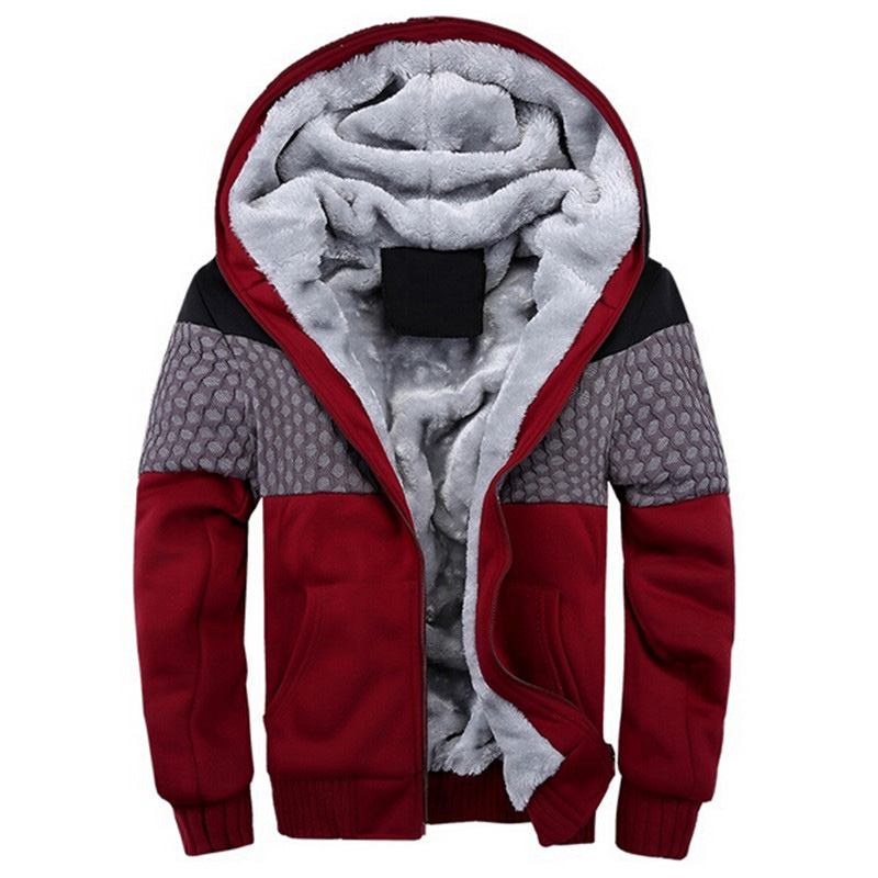 Images of Mens Thick Hoodies - Reikian
