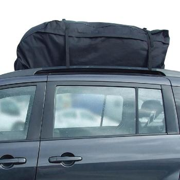 Roof Top Bag Rack Cargo Carrier Luggage Storage Travel Waterproof Touring SUV Van For Cars Car Styling image