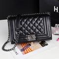 New Genuine Leather Bags For Women Chain Shoulder Bags Classic Diamond Lattice Crossbody Bag Luxury Bags Women Handbags Designer