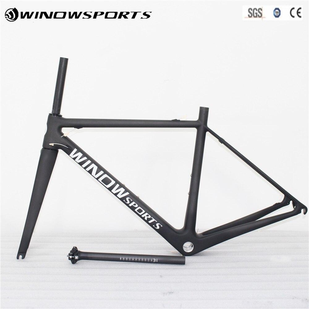 цена на 2018 Superlight Design Carbon Road Frame bicycle frame carbon fiber road frame racing bike carbon road bike