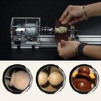 Токарный мини станок бусины машины Деревообработка DIY токарный станок для шлифования таблица пилы шлифовальные резка дрель роторный инстр