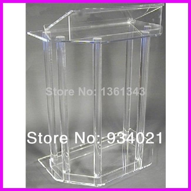Hot SellingHandmade Clear Cheap Acrylic Lectern