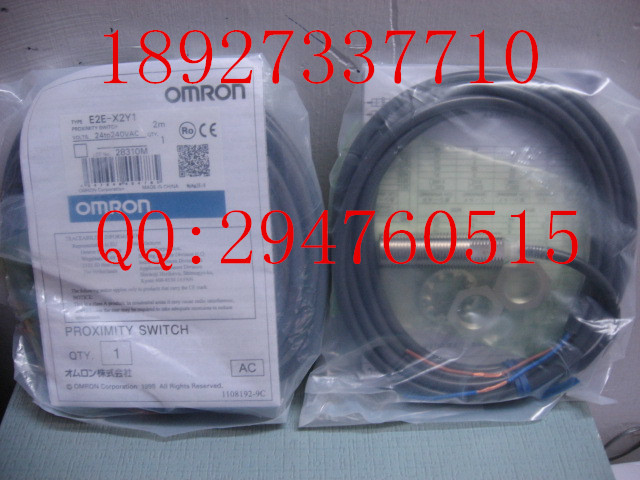 [ZOB] 100% brand new original authentic OMRON Omron proximity switch E2E-X2Y1 2M factory outlets [zob] 100 new original authentic omron omron level switch 61f gp n ac220v 2pcs lot