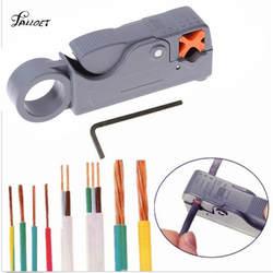 Горячие Автоматические плоскогубцы провода зачистки кабеля резаки для SIM карт для снятия изоляции и обжимки инструмент с шестигранный