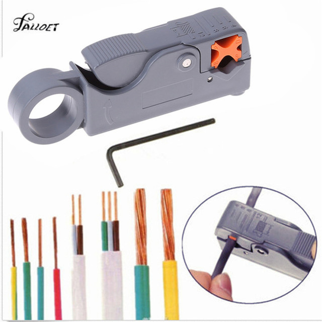 Automatic Stripping Pliers Wire Stripper Cable Wire Cutter Stripping Crimping Tool with Hexagon Wrench Tools Nippers