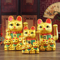 Cosmetics Box Hand Cat 12 14 16 Inch Golden Hand Electric Creative Wufu Cat Opening Gifts