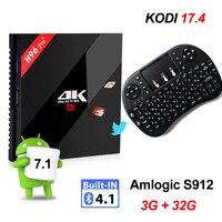3G 32G Android 6 0 TV Box Amlogic S912 Octa Core 2GB 16GB H96 Pro 4K