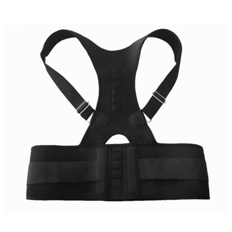 Posture Corrector Support Magnetic Back Shoulder Brace Belt For Men Women Body Shaping Sitting Position Correction Belt