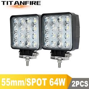 DS 4x4 LED Spot/Flood Work lig