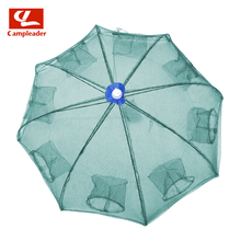 Fish Web Fishing Rod Folding Fishing Web Gear Hand Throw Web with Umbrella Automated Fish Safety Provides CL216