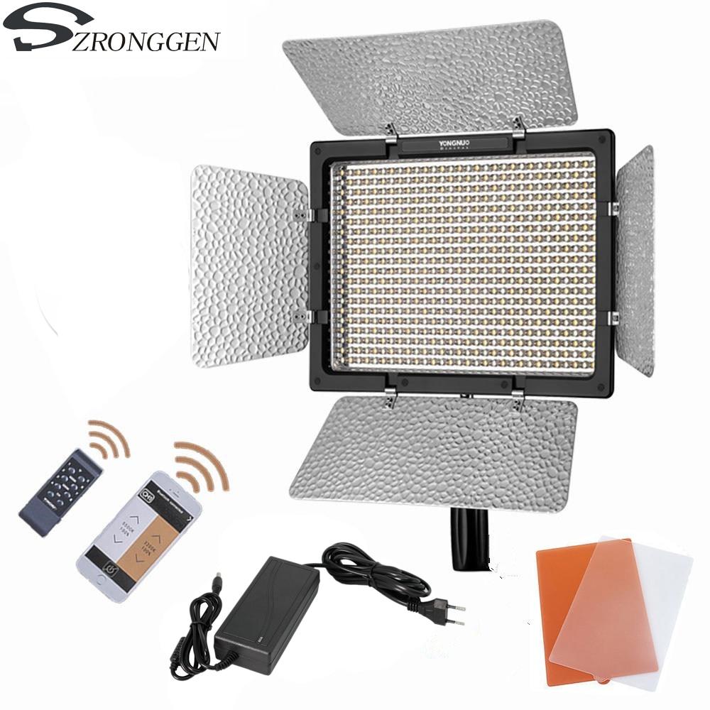 YONGNUO YN600L II YN600L II 600 LED Video Light Panel 3200 5500K AC Power Adapter