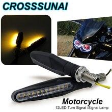2 stücke 4 stücke Blinker Motorrad LED Warnen Lichter Blinker Fließende Wasser Flasher Lichter Schwanz Stop Indikatoren Gebaut Biegsamen lampe