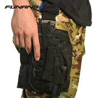 Tactical Gun Holster Molle Modular Pistol Platform Holster With Magazine Pouch For Right Handed Shooters 1911