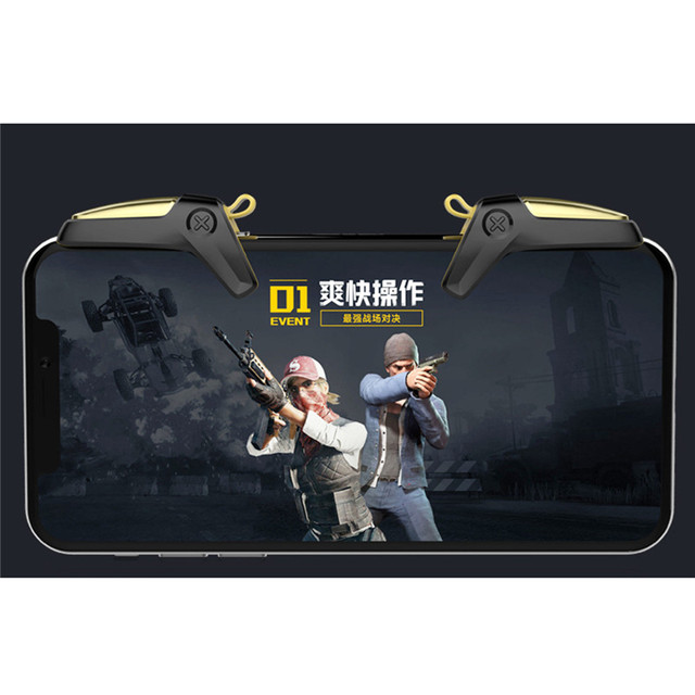 New PUBG Mobile Game Controller Gamepad Trigger Aim Button L1 R1 Shooter Joystick For iPhone Android Phone Game Pad Accesorios