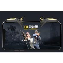 PUBG manette de jeu Mobile iPhone, outil de contrôle de jeu Mobile Gamepad, déclencheur objectif du bouton L1 R1, Joystick de jeu pour iPhone, accessoires de jeux pour téléphones Android
