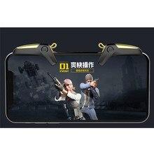 Yeni PUBG Mobil Oyun Denetleyicisi Gamepad Tetik Amacı Düğmesi L1 R1 Shooter Joystick iPhone Android Telefon Için Oyun Pedi Accesorios