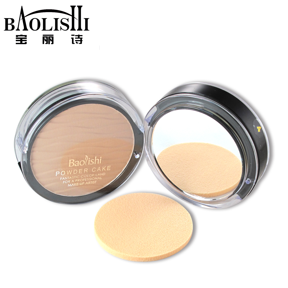 baolishi translucent Bronzers Whitening Concealer The outer powder font b face b font matte waterproof beauty