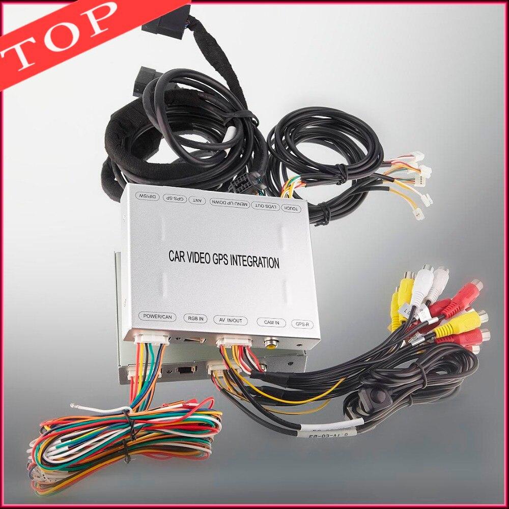 ТВ тюнер dvd-плеер видео Вход Интерфейс видео интеграции для 2012 Audi Q3 6.5 монитор