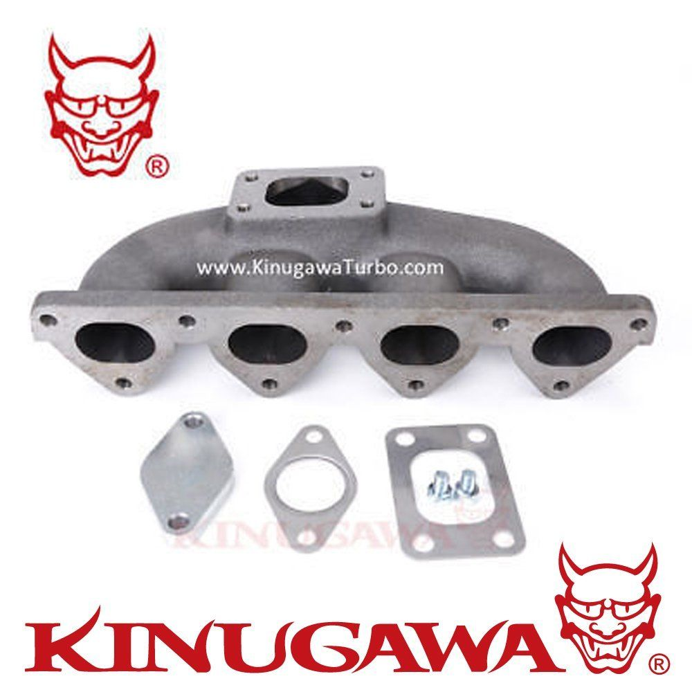 Kinugawa Turbo collecteur Kit T25 bride 38mm WG trou pour HONDA Civic D15 D16 garder AC & PS