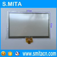 4 3 Inch Resistive Touch Screen Digitizer SMT043074 105x65mm GPS Replacement Touchscreen Touch Panel Free Shipping