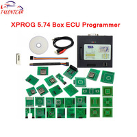 Newest Version Xprog V5 74 EEPROM IMMO ECU Programmer Full Adapters X PROG M Box 5