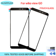 KOSPPLHZ 5.7 '' Touch Screen Digitizer For wiko view go Front Glass Lens