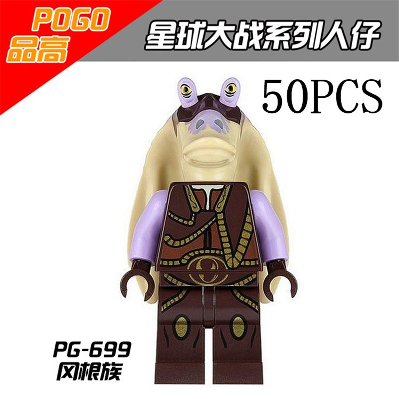 gifts Star Wars Pogo XINH Wholesales PG699 50PCS Building Blocks Bricks Toys Action Figures compatible legoe