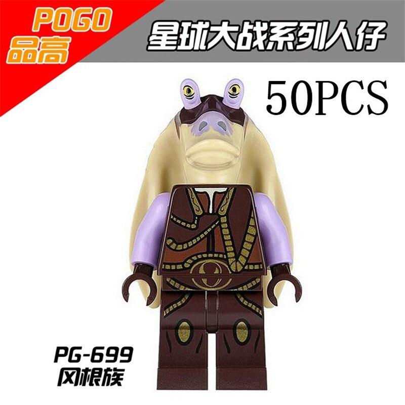 Lepin Star Wars Pogo XINH Wholesales PG699 50PCS Building Blocks Bricks Toys Action Figures compatible legoe